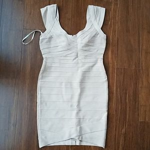 New with tags Herve Leger Nannette dress size L